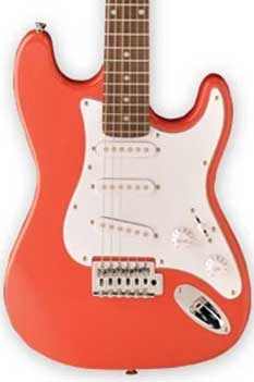 Jay Turser 30 Series 3/4 Size Electric Guitar, Metallic Red