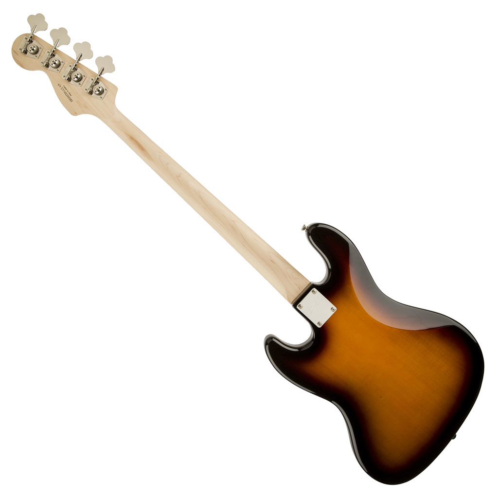 Squier Affinity Series Jazz Bass with Rosewood Fingerboard - Brown Sunburst - Bananas at Large - 4