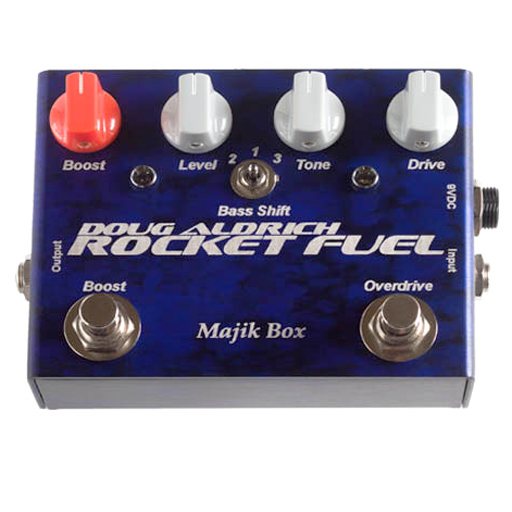 Majik Box RF-LTD Doug Aldrich Rocket Fuel Limited 5th Anniversary Edition Pedal - Bananas at Large