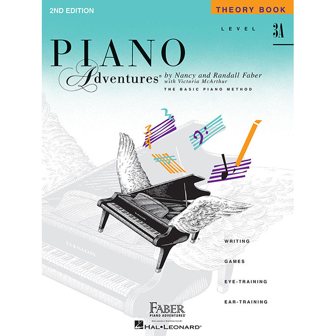 Hal Leonard Piano Adventures Level 3A Theory Book 2nd Edition - Bananas At Large®