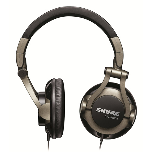 Shure SRH550DJ Professional DJ Headphones - Bananas at Large