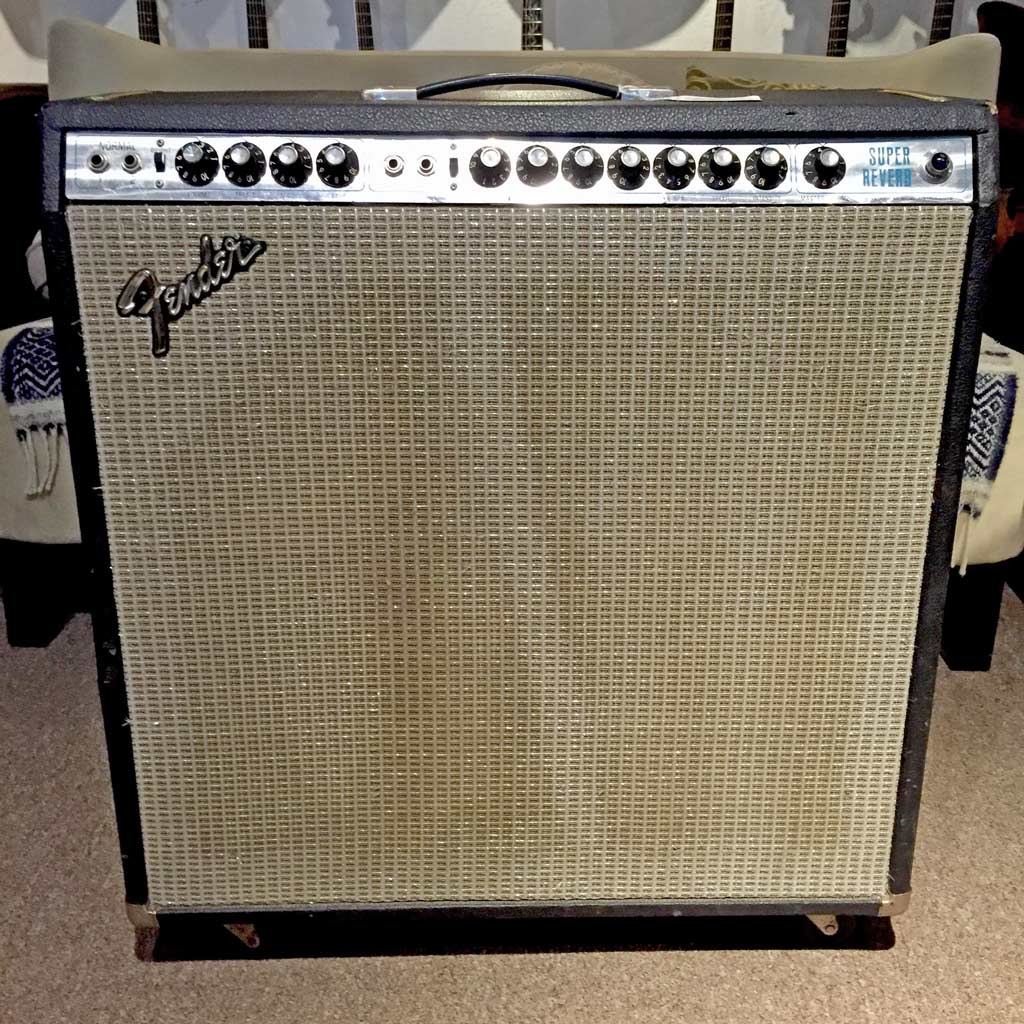 Fender Super Reverb 1974 Amp 1967 Transformers Late 70s Speakers (Pre-Owned) - Bananas At Large®