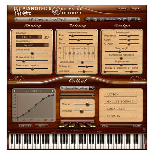PIANOTEQ Kremsegg Collection 2 Broadwood Pleyel Frenzel Bechstein Piano [Download] - Bananas at Large