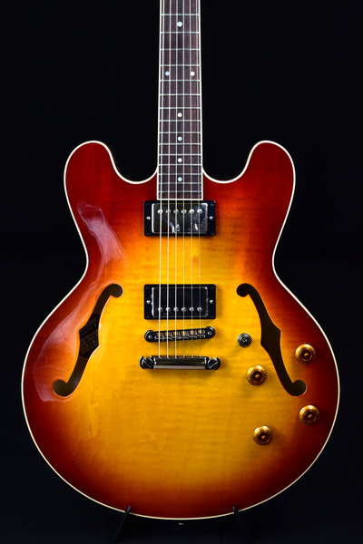 Heritage H-535 Semi-Hollow Body Guitar - Almond Sunburst