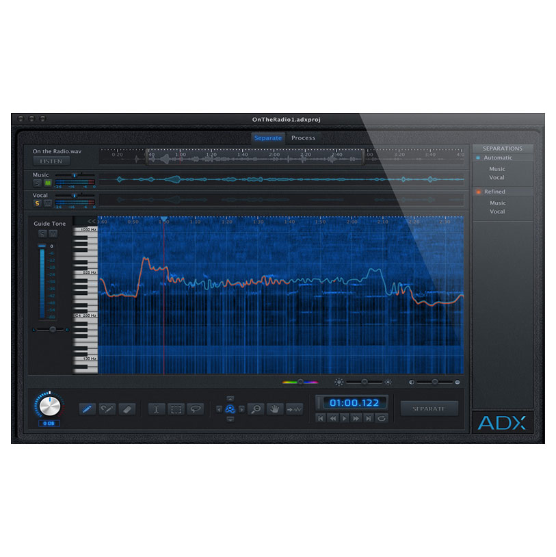 Audionamix ADX Trax Non-Destructive Audio Source Separation [Download] - Bananas at Large