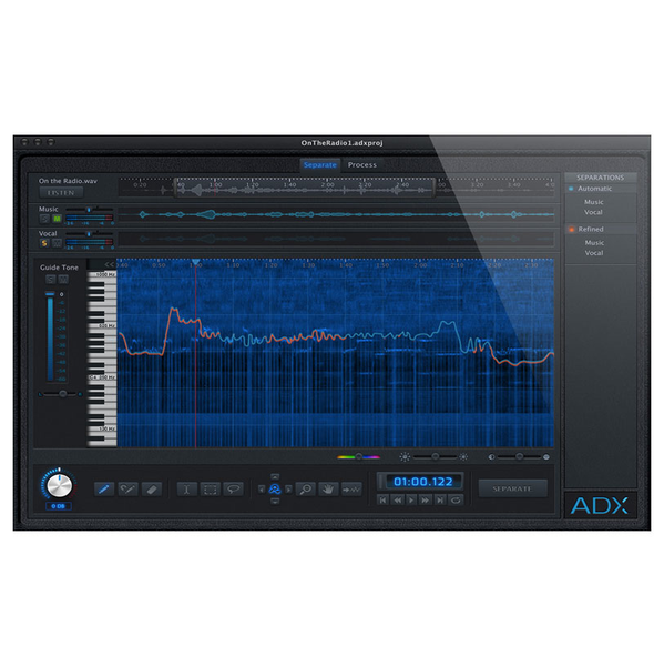 Audionamix ADX Trax Non-Destructive Audio Source Separation [Download] - Bananas At Large®