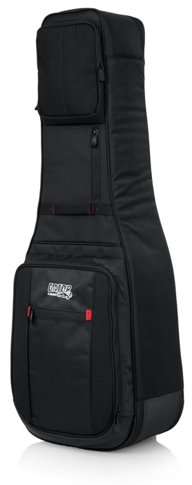 Gator G-PG ELEC 2X ProGo Series Ultimate Gig Bag for 2 Electric Guitars - Bananas at Large - 2