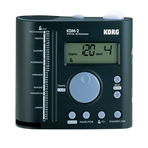Korg KDM2 Band and Orchestra Metronome with PCM Sounds - Bananas At Large®