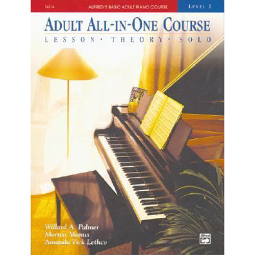 Alfred Basic Adult All-in-One Course Book 2 - Comb Bound Book - Bananas At Large®