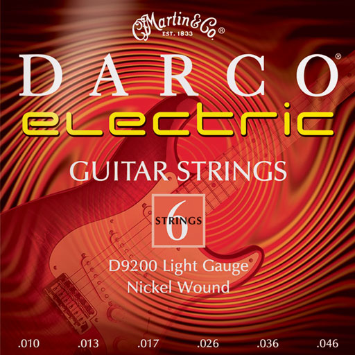 Martin D9200 Darco Electric Strings - Light - Bananas at Large