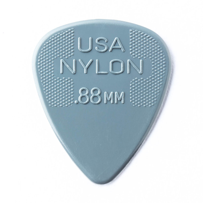 Dunlop 12 Pack Nylon Standard .88 mm Guitar Picks