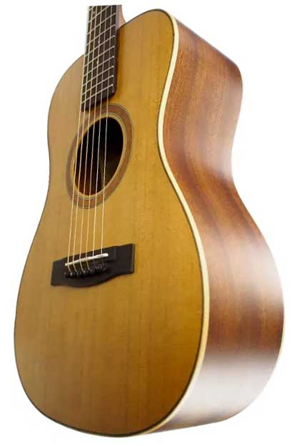 Journey Instruments OF410N CollapsibleSolid Sitka/Mahogany Travel Guitar