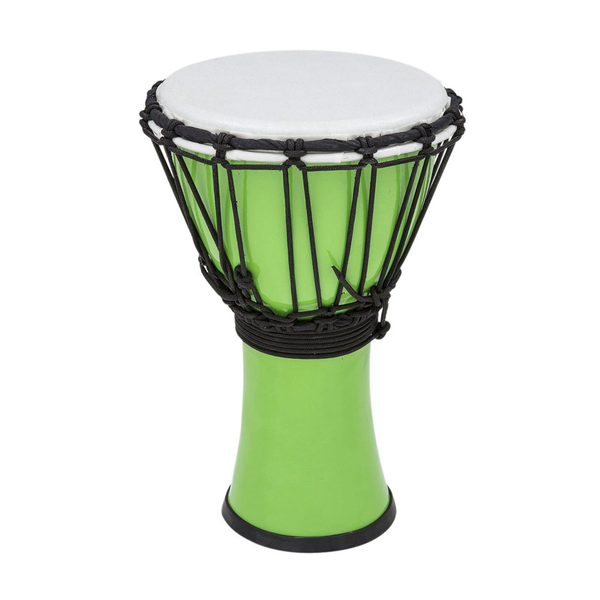 Toca Freestyle Colorsound 7 in. Djembe - Pastel Green - Bananas at Large