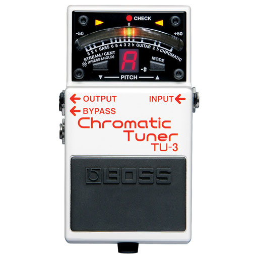 Boss TU-3 Chromatic Tuner Pedal - Bananas at Large