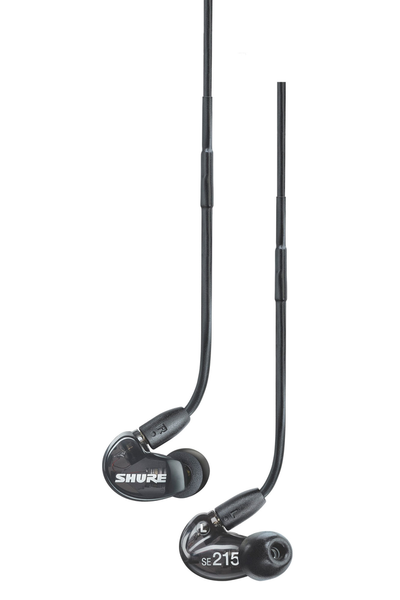 Shure SE215 Sound Isolating Earphones - Translucent Black - Bananas at Large