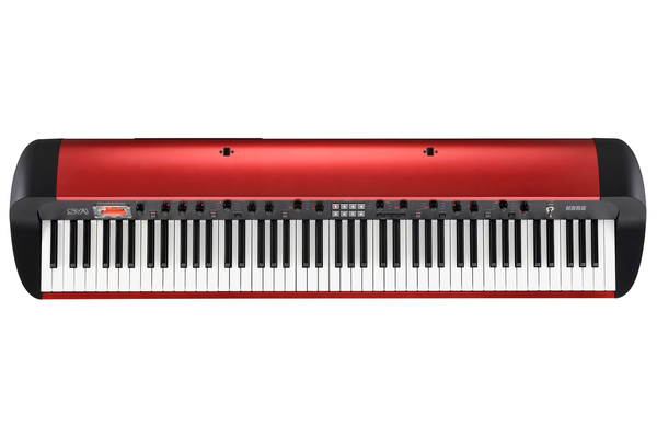 Korg SV-1 88 Key Stage Piano in Limited Edition Metallic Red