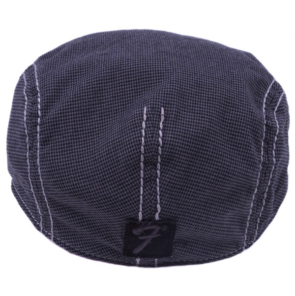 Fender Drivers Cap, Gray/Black Houndstooth, S/M - Bananas at Large - 3