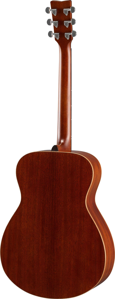 Yamaha FS850 Small Body Acoustic Guitar in All Mahogany - Bananas at Large - 2
