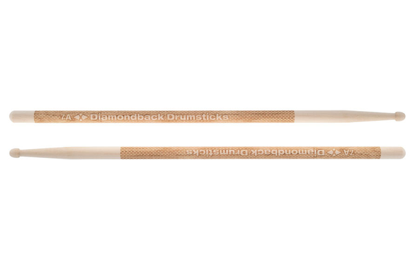 Diamond DB1007A Laser Engraved 7A Wood Tip Drumsticks - Bananas at Large