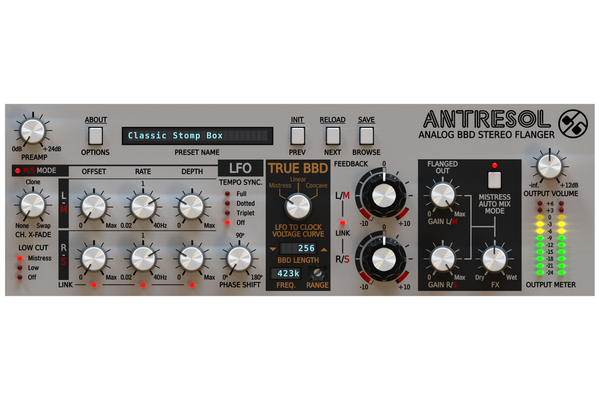 D16 Group Antresol Classic Flanger for Modern Production [Download] - Bananas at Large