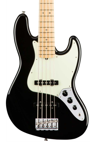 Fender American Pro Five String Jazz Bass V with Maple Fretboard - Black