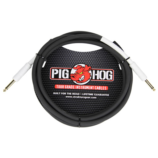 PigHog PH10 10ft Dual Straight Instrument Cable - Bananas at Large