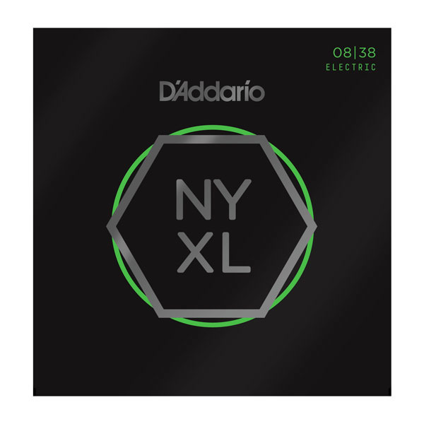 D'Addario NYXL0838 Nickel Wound Extra Super Lite Electric Strings .008-.038 - Bananas At Large®