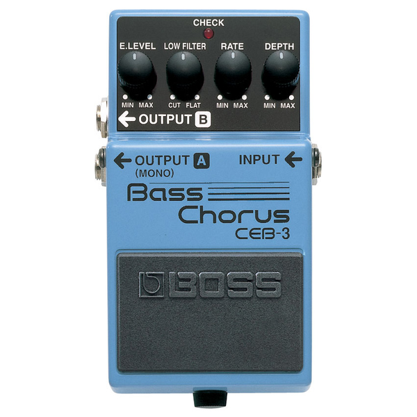 Boss CEB-3 Bass Chorus Pedal - Bananas at Large