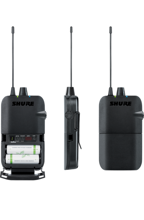 SHURE P3R-G20 PSM®300 Wireless Bodypack Receiver