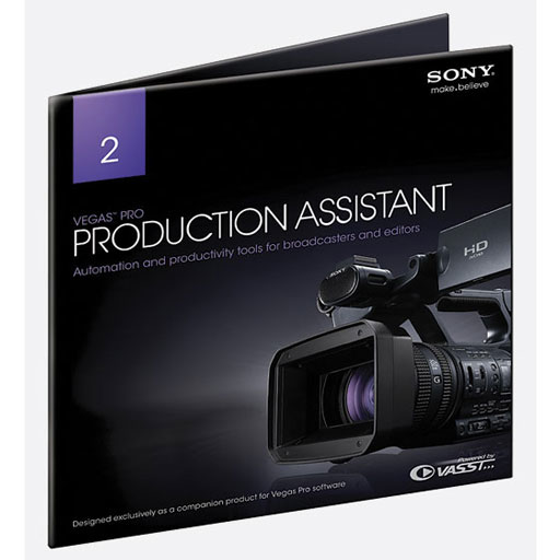 Sony Vegas Pro Production Asst [Download] - Bananas at Large