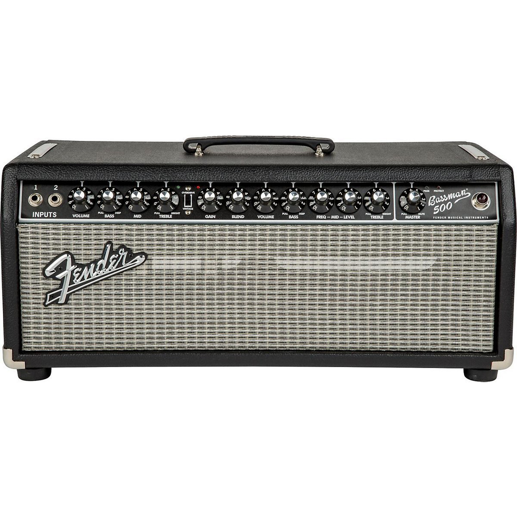 Fender Bassman 500 Head Bass Amplifier Head 120V (Clearance All Sales Final) - Bananas at Large