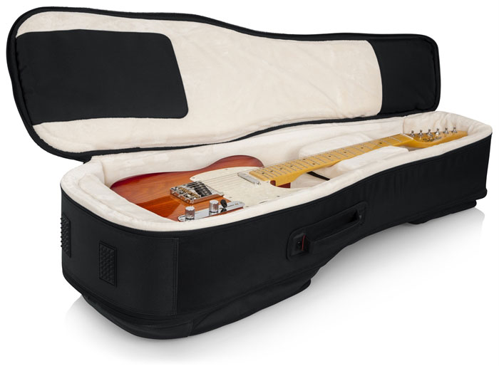 Gator G-PG ELEC 2X ProGo Series Ultimate Gig Bag for 2 Electric Guitars - Bananas at Large - 3