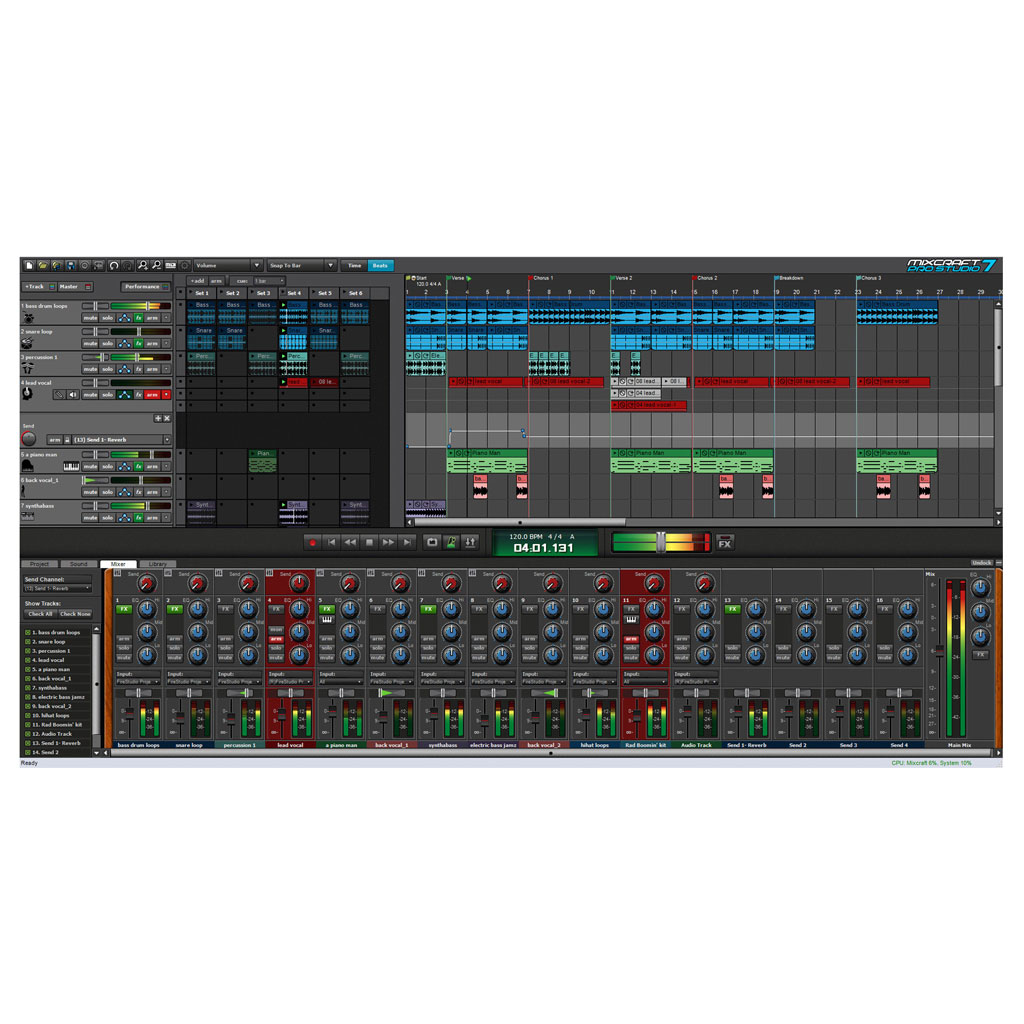 Acoustica Mixcraft Pro Studio 7 Windows Music Production Software [Download] - Bananas At Large®