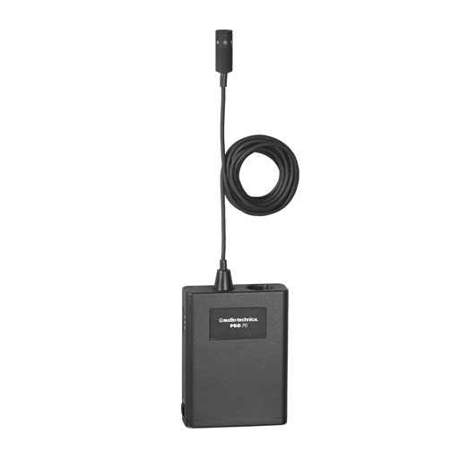 Audio-Technica PRO 70 Cardioid Cardioid Condenser Lavalier/Instrument Microphone - Bananas At Large®
