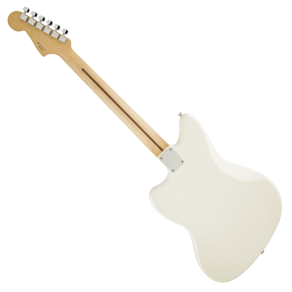 Fender Standard Jazzmaster HH with Rosewood Fingerboard - Olympic White - Bananas At Large®