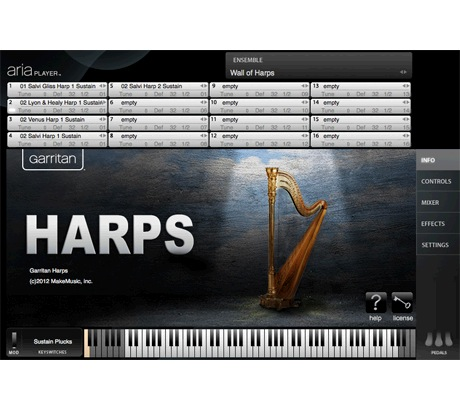 Garritan Garritan Harps [Download] - Bananas At Large®