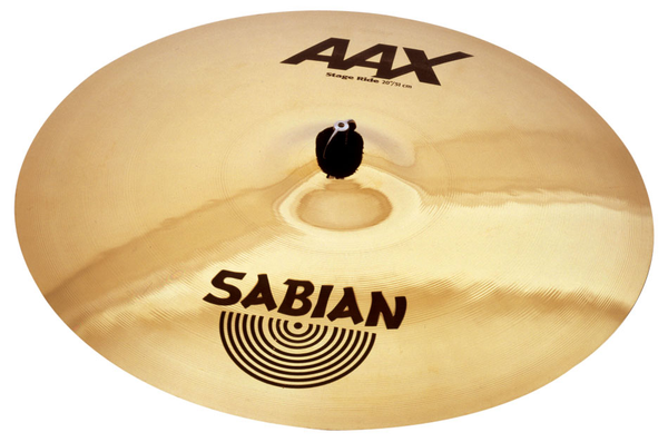 Sabian 20 in. AAX Stage Ride Brilliant Finish - Bananas at Large - 1