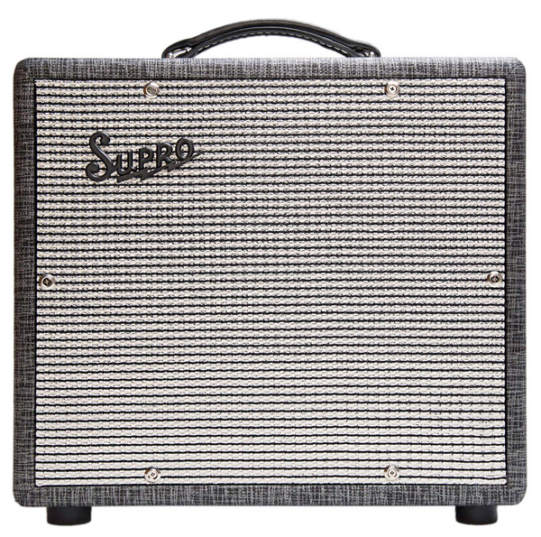 Supro 1600 Supreme 25 Watt 1x10 Combo Amp - Bananas at Large - 1