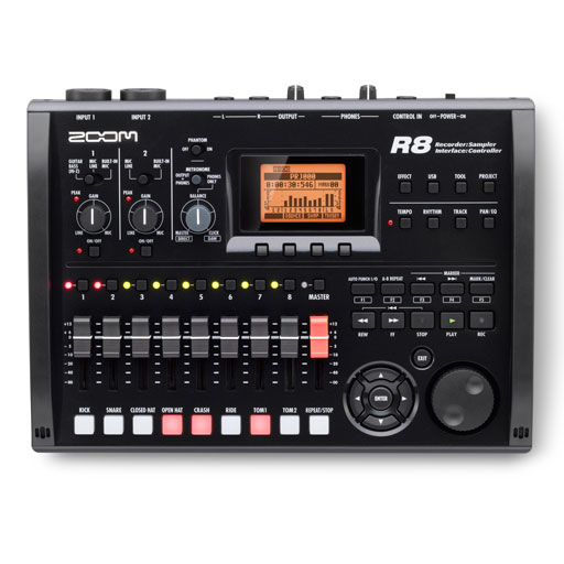 Zoom R8 Digital Multitrack Recorder - Bananas at Large