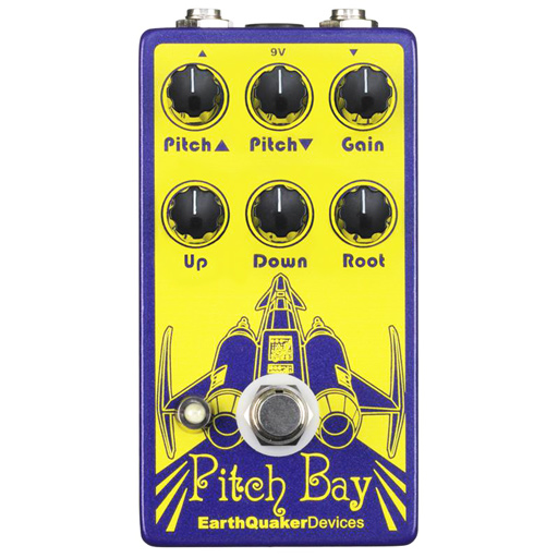 Earthquaker Devices Pitch Bay Dirty Polyphonic Harmonizer Pedal - Bananas At Large®