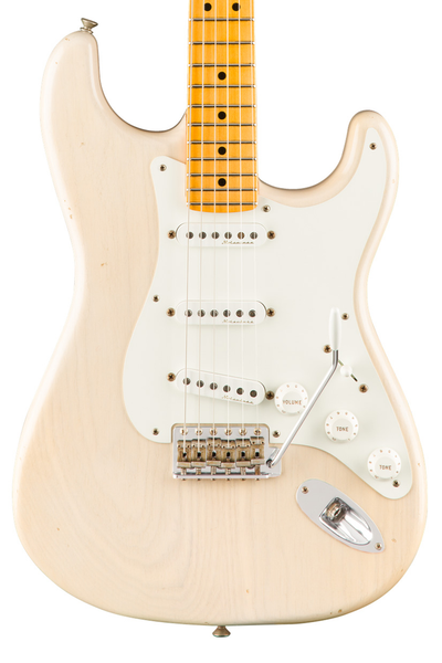 Fender Custom Shop  Journeyman Relic Eric Clapton Signature Stratocaster - Aged White Blonde