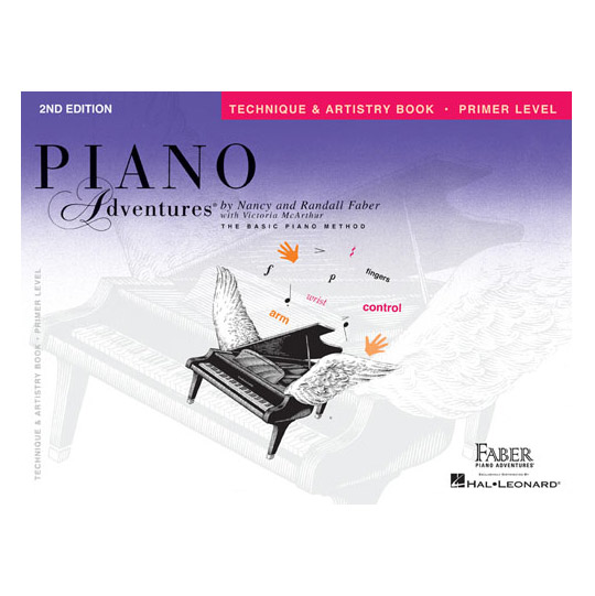 Hal Leonard Piano Adventures Primer Level Technique and Artistry Book 2nd Edition - Bananas At Large®