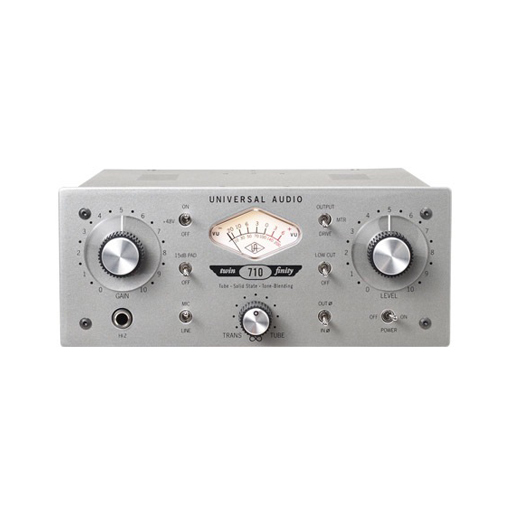 Universal Audio 710 Twin Finity Tube and Solid State Single Channel Microphone Preamp - Bananas at Large