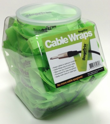 Stagetrix SW1 Cord Wraps (each) - Bananas at Large