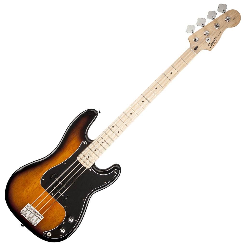 Squier Stop Dreaming Start Playing! Set: Affinity Series Precision Bass with Fender Rumble 15 Amp - Bananas at Large - 3