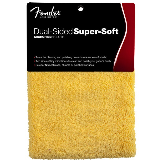 Fender Dual-Sided Super-Soft Microfiber Cloth - Bananas At Large®