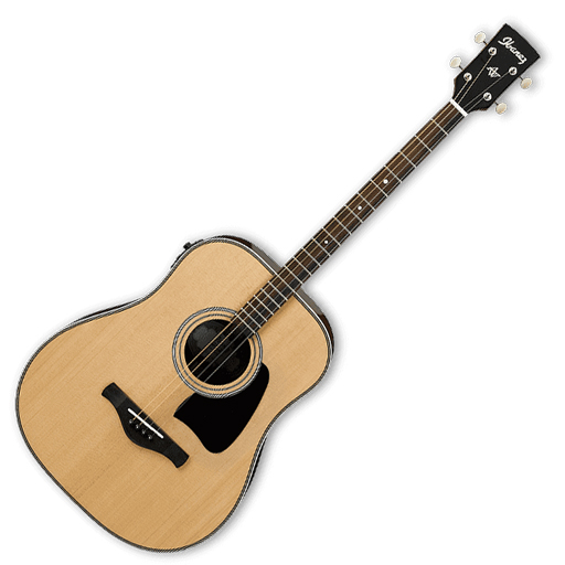 Ibanez AVT2E Artwood Vinatge Series Acoustic Electric Tenor Guitar - Natural High Gloss - Bananas At Large®