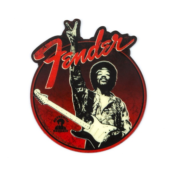 Fender Jimi Hendrix, Peace Sign Magnet - Bananas At Large®