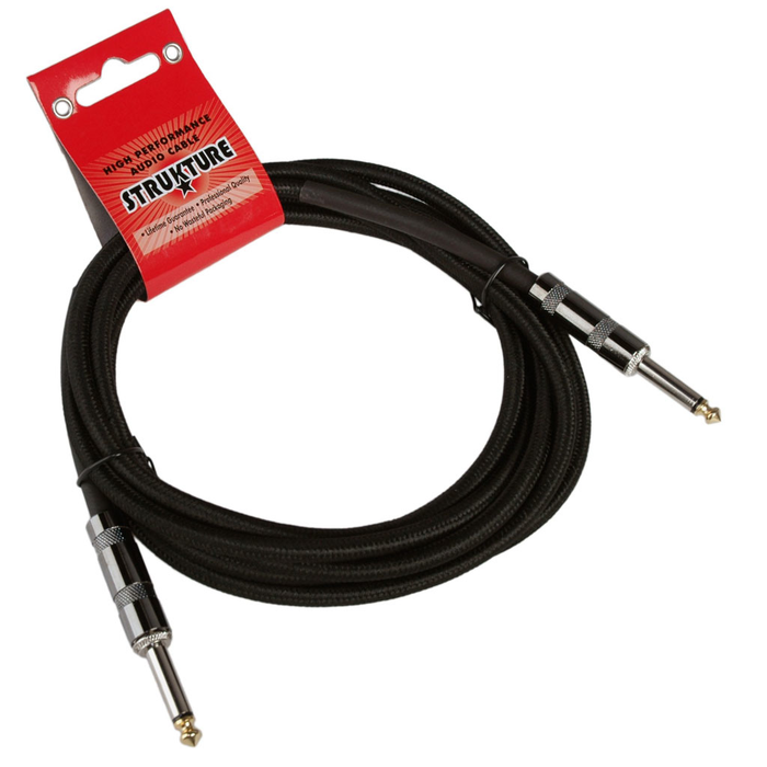 Strukture SC10W 10ft Instrument Cable 6mm Woven - Bananas at Large