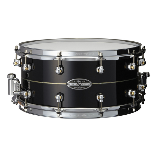 Pearl HEK-1465 14x6.5 Kapur/Fiberglass Hybrid Exotic Snare Drum - Bananas at Large - 1